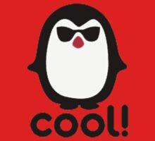 Cool Penguin Kids Tee