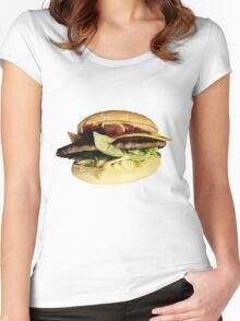 BurgerBurger Women's Fitted Scoop T-Shirt