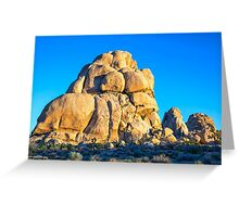 ROCKS IN A ROW Greeting Card