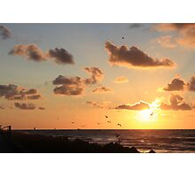Fly into the sun Photographic Print