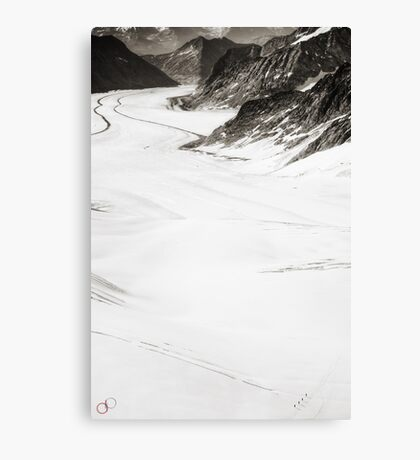 The Long Cold Walk Canvas Print