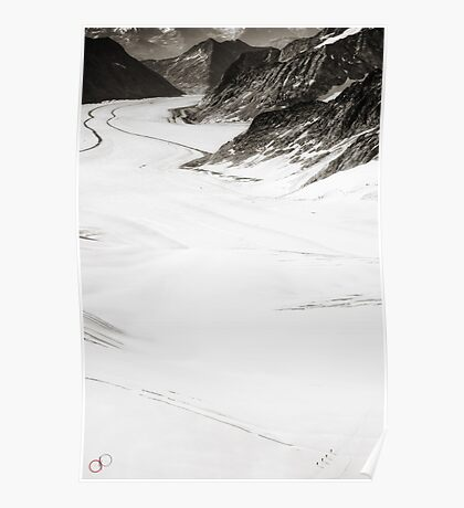 The Long Cold Walk Poster
