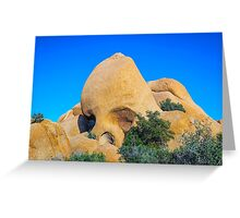 ROCK HEAD Greeting Card