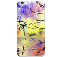 Cosmic Spider Abstract Art iPhone Case/Skin