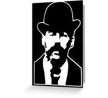 HH Holmes Greeting Card