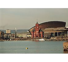 Cardiff Bay Across The Water Photographic Print