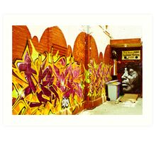 Street Art Toronto Art Print