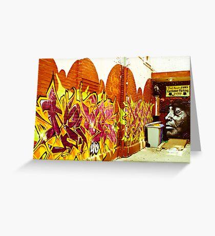 Street Art Toronto Greeting Card