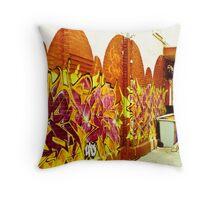 Street Art Toronto Throw Pillow
