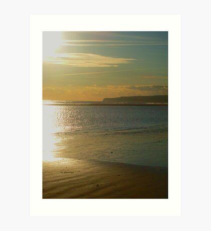 Rye Beach - East Sussex Art Print