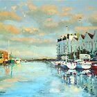 Summer Evening, Galway Harbour by conchubar