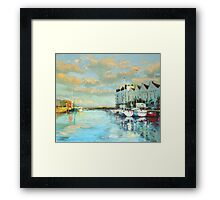 Summer Evening, Galway Harbour Framed Print