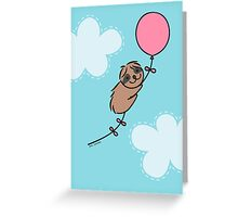 Little Birthday Sloth Greeting Card