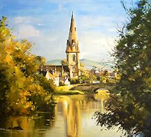 St. Muredach's Cathedral Spire, Ballina, Co. Mayo by conchubar