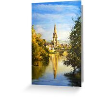 St. Muredach's Cathedral Spire, Ballina, Co. Mayo Greeting Card