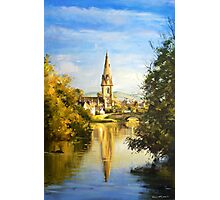 St. Muredach's Cathedral Spire, Ballina, Co. Mayo Photographic Print