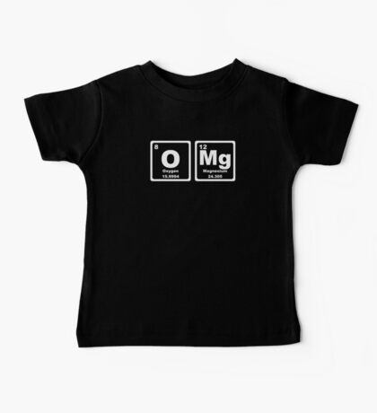 OMG - Periodic Table Baby Tee
