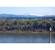 View of Columbia river from Crown Point Photographic Print