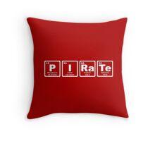 Pirate - Periodic Table Throw Pillow