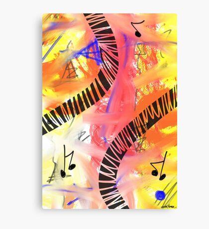 Music - Unique Abstract Art Canvas Print