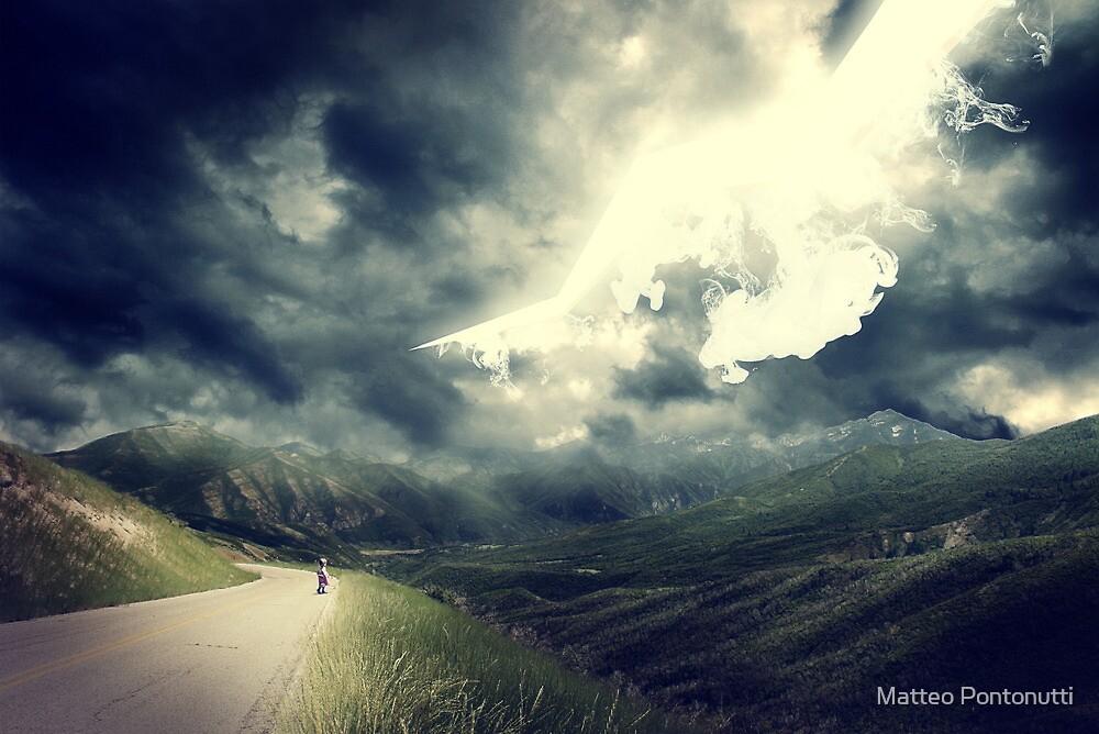 The Sky Bleeds Light by Matteo Pontonutti