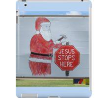 Jesus Stops Here iPad Case/Skin