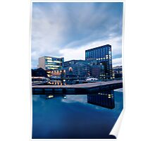 Grand Canal Dock Poster