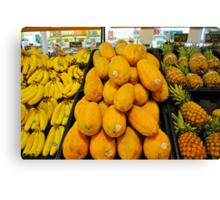 yellow and orange fruit Canvas Print