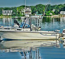 Boating in Narragansett, RI  by Nancy Rohrig