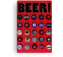 Celebrate Beer! Canvas Print