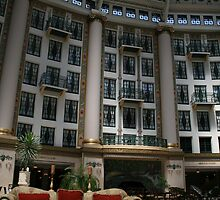 West Baden Hotel Atrium by Hope A. Burger