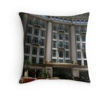 West Baden Hotel Atrium Throw Pillow