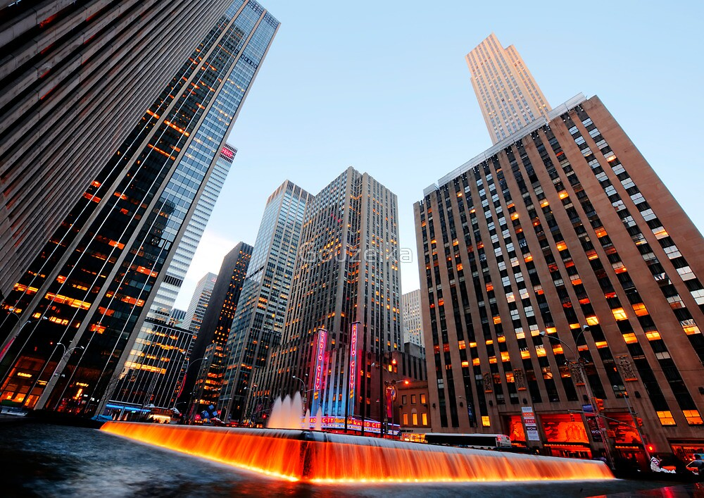 New York by Gouzelka