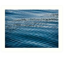 Ripples on Puget Sound Art Print