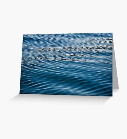 Ripples on Puget Sound Greeting Card