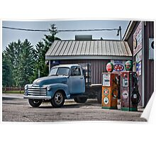40's Chevy Flatbed in HDR Poster
