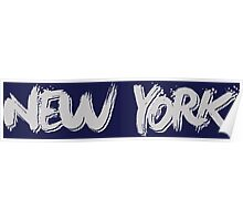 New York: Grey Poster
