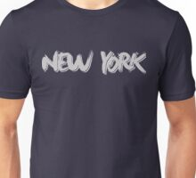 New York: Grey Unisex T-Shirt