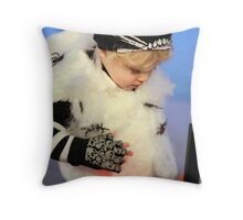 Super-tough spider fairy Throw Pillow