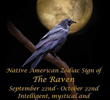The Native American Zodiac Sign of The Raven (Libra) by Stephanie Laird