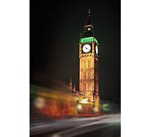 Big Ben Blur Photographic Print