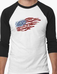 Proud Patriot Men's Baseball ¾ T-Shirt