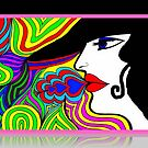 Groovy Chick © by Dawn M. Becker