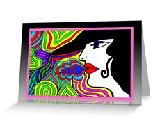 Groovy Chick © Greeting Card