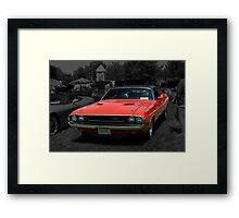 1970 Dodge Challenger Framed Print