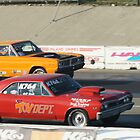 Boys & Their Toys; Jeff Beck (Red) vs Orange; Summit Series Racing by leih2008