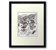 La mar Framed Print
