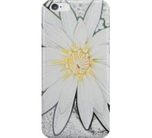 White water lilly iPhone Case/Skin