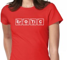 Erotic - Periodic Table Womens Fitted T-Shirt