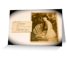 Remember Me By Jonathan Green Greeting Card
